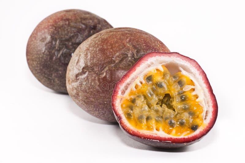 Passionfruits stock photo