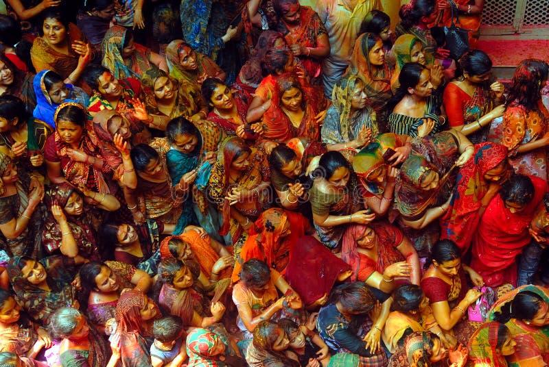 Passionnée indienne de femmes image libre de droits