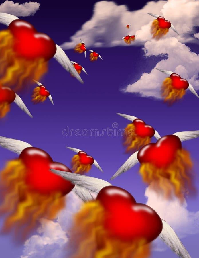 Download Passions Burning stock illustration. Illustration of form - 1711274
