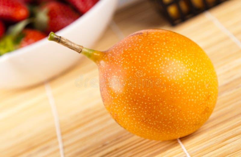 Passionsfrucht stockfotos
