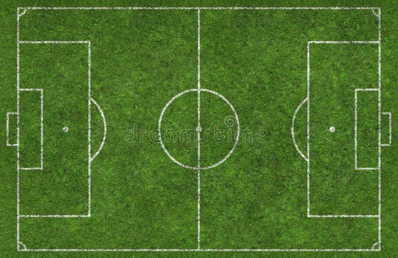 Passo de futebol imagem de stock