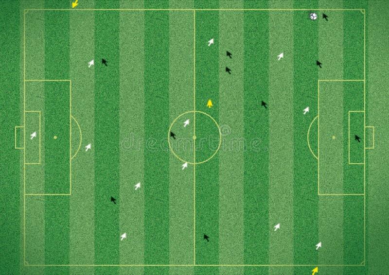Passo De Futebol Imagens De Stock