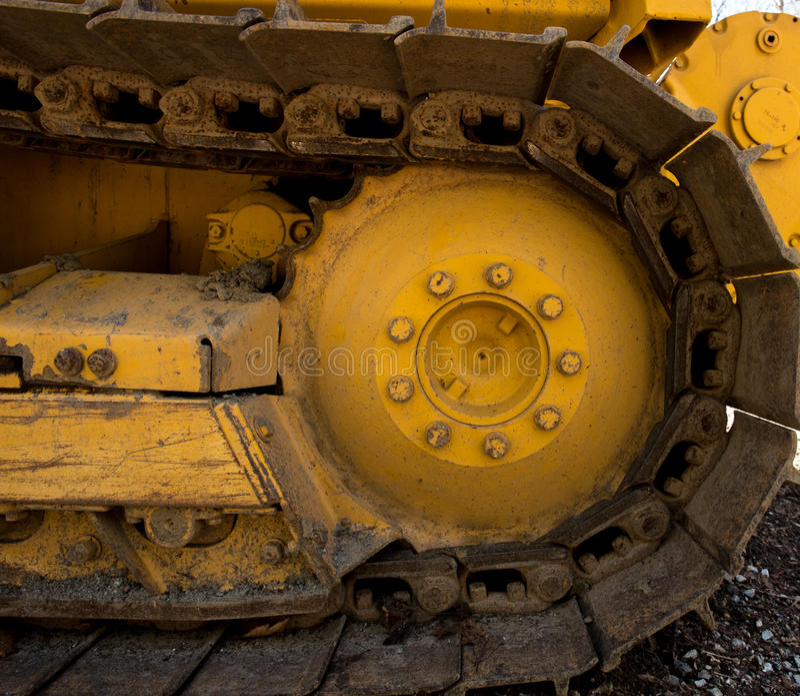 Passo del bulldozer del toro fotografie stock libere da diritti