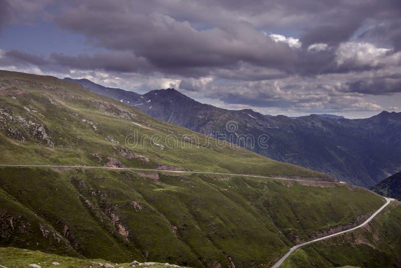 Passo Di Pennes Bozen στοκ εικόνα