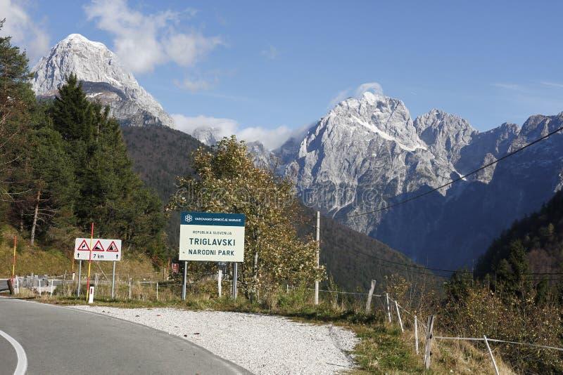 Passo Di Predil stock afbeeldingen