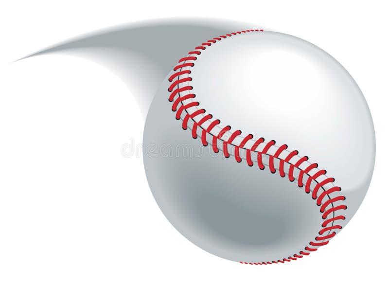 Passo do basebol ilustração royalty free