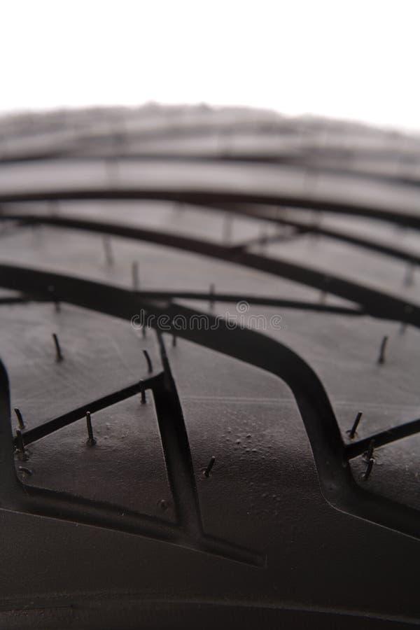 Passo do pneu imagens de stock