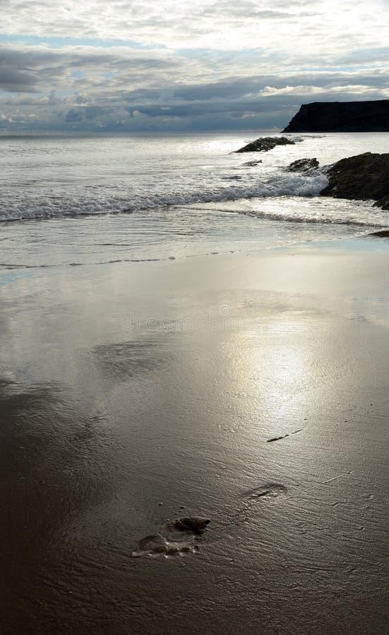 Passo na areia