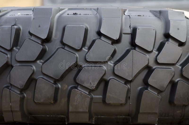 Passo resistente do pneu foto de stock