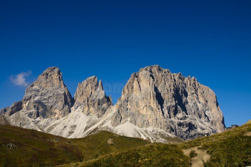 Passo Sella, Dolomites Italy stock photos