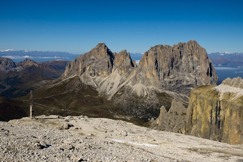 Sella group, Dolomites Italy royalty free stock images