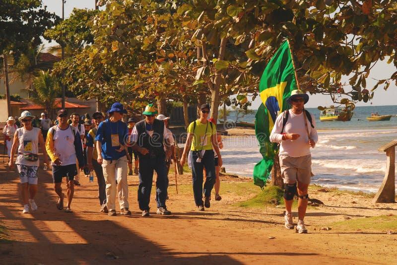 Passos De Anchieta Pilgrimage_04 zdjęcie stock