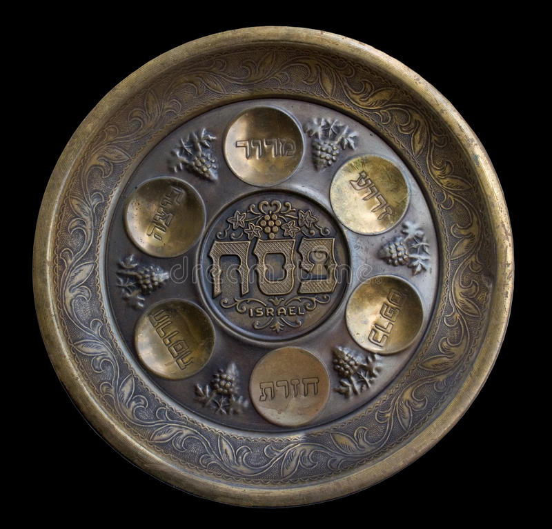 passover półkowy seder rocznik zdjęcia stock
