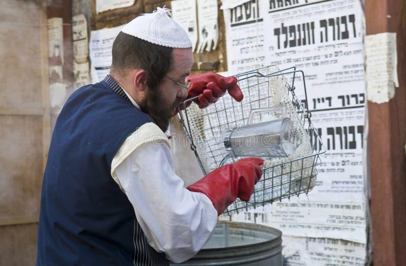 Passover Preparation Editorial Stock Image