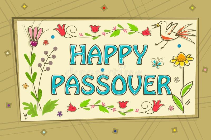 Passover znak ilustracja wektor
