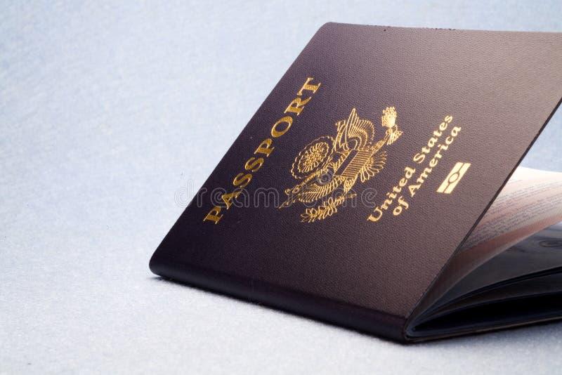 Passport. A shoot of a new passport stock photo