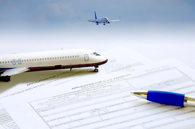 Download Passport Application Travel Concept Stock Photo - Image: 43156473