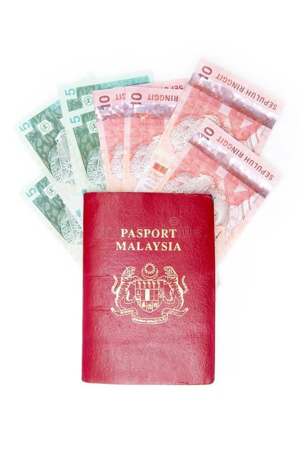 Passport Malaysia Stock Image