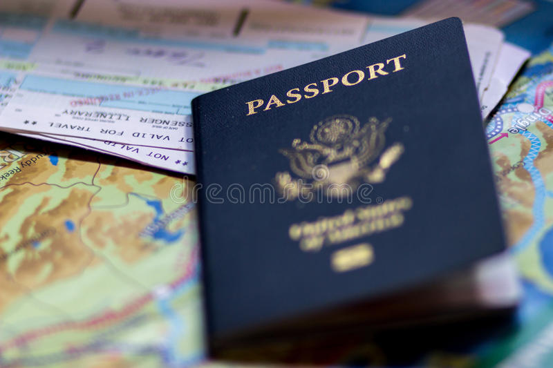 Passport stock images