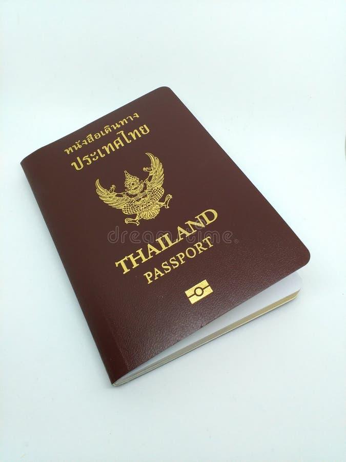 Passport. Thailand Passport for Thai people stock photo