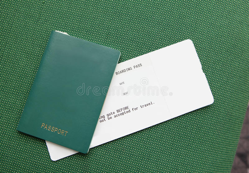 Download Passport And Ticket (empty Copy Space) Stock Photo - Image: 25269064