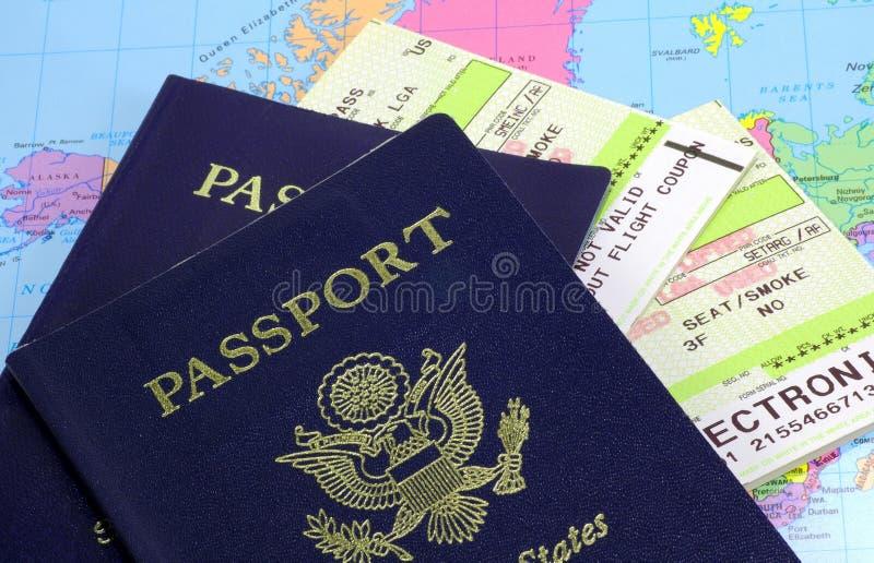 Passports stock image