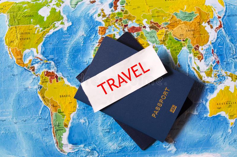 download passports on the map of the usa and europe stock image image of