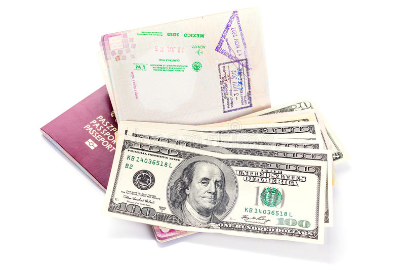 Download Passports And Money Ready For Travel Stock Image - Image: 30204925
