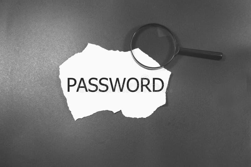 password fotografía de archivo libre de regalías
