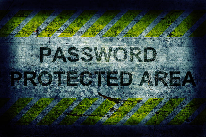 Download Password protection stock image. Image of mail, internet - 28198669