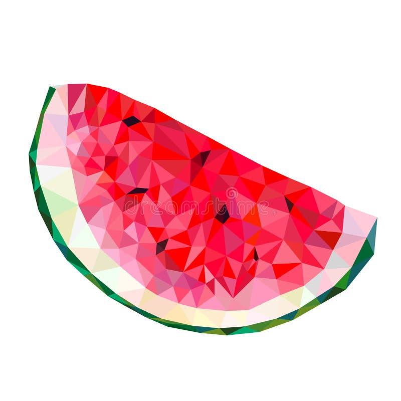 pastèque illustration de vecteur