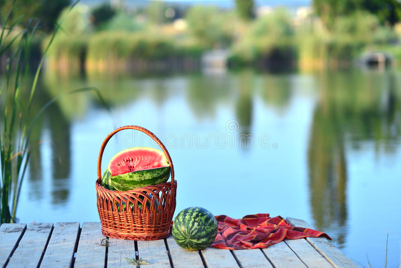 pastèques photo stock
