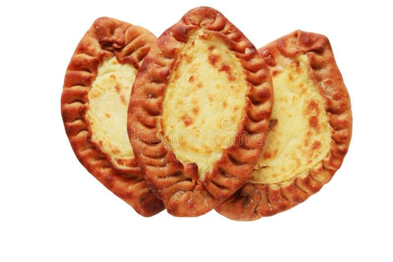 Pastéis carelianos tradicionais de Finlandia fotos de stock royalty free