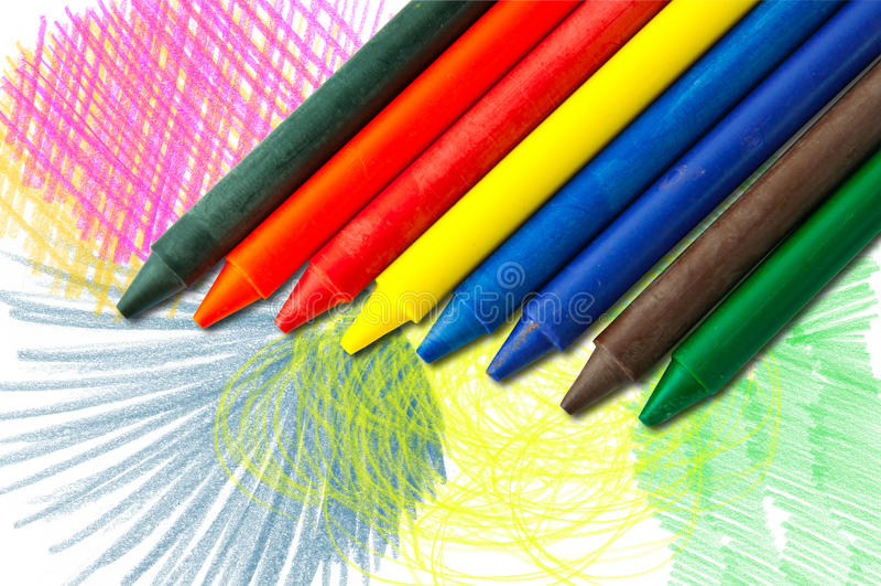 Pastéis coloridos ilustração do vetor