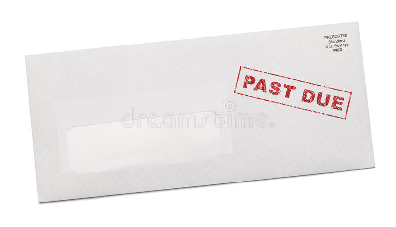 Download Past Due Bill stock image. Image of mail, debt, correspond - 29882773
