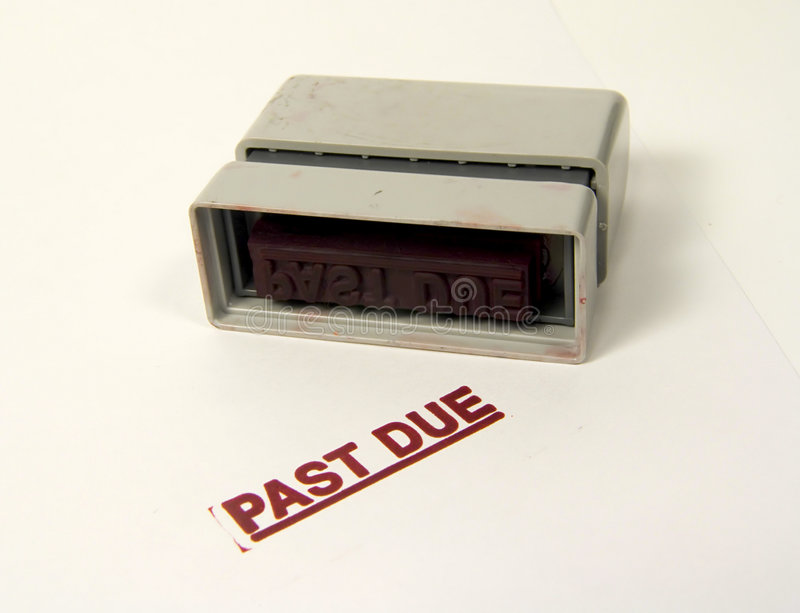 Download Past Due Stamp stock image. Image of payment, office, stamp - 12615