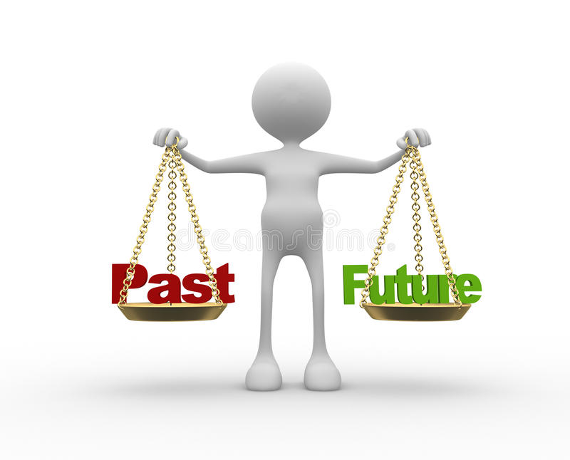 Download Past Or Future Stock Illustration - Image: 39156629