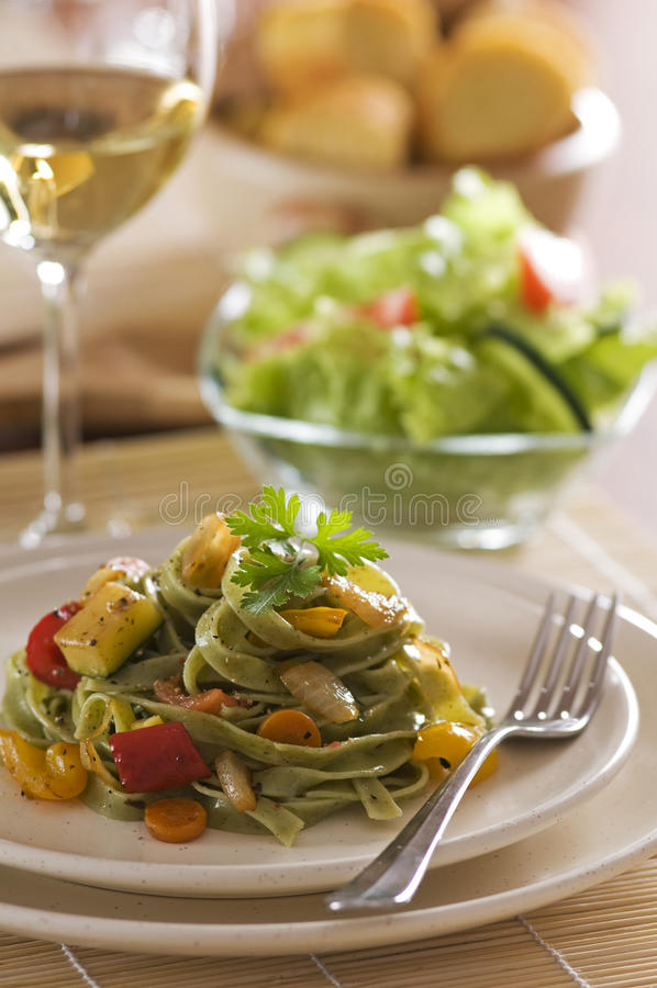 Download Pasta stock photo. Image of herb, meal, food, parsley - 10210940