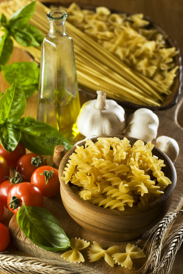 Download Pasta stock image. Image of healthy, tomato, cuisine, fresh - 6105029