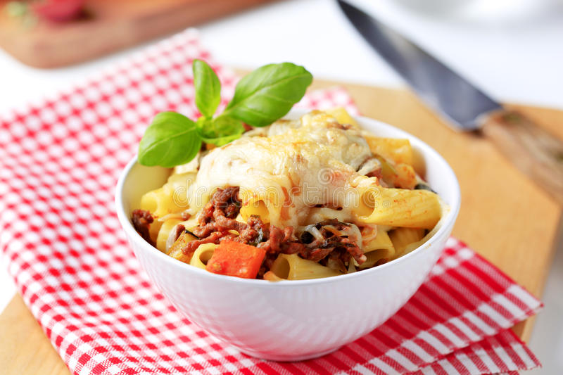Pasta Alla Bolognese Royalty Free Stock Image