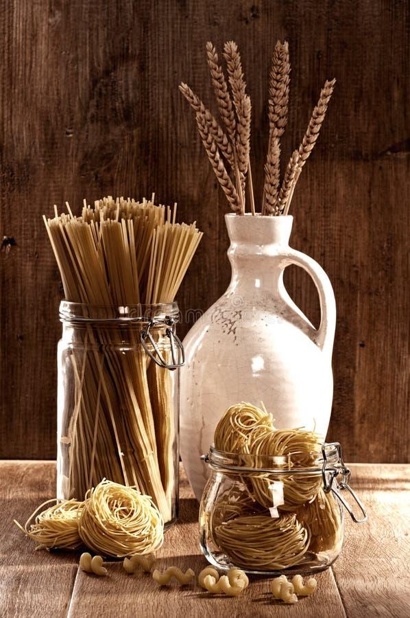 Pasta & spaghetti dell'annata immagine stock