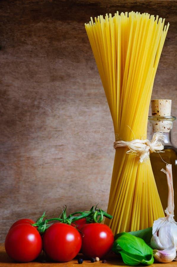 Download Pasta background stock photo. Image of tomatoes, garlic - 22061840