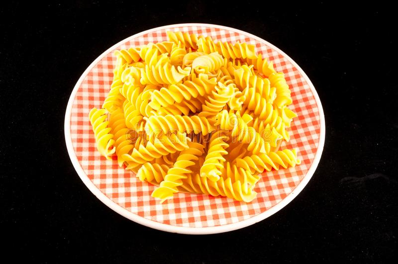 pasta on white background, digital photo picture as a background stock images