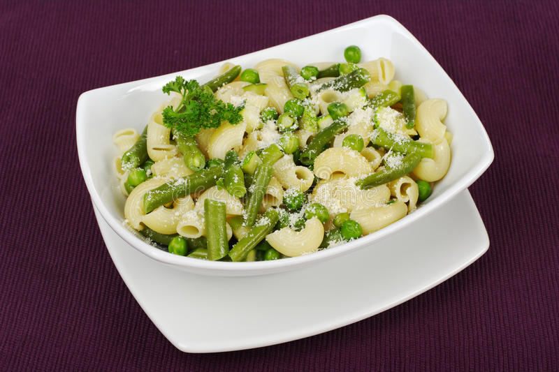 Download Pasta With Beans And Peas Royalty Free Stock Image - Image: 15776346