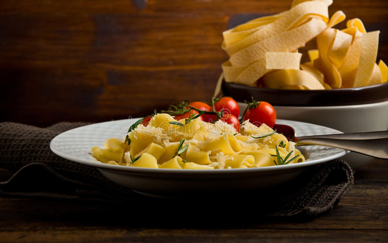 Download Pasta With Cheese And Rosemary Stock Image - Image: 21783977