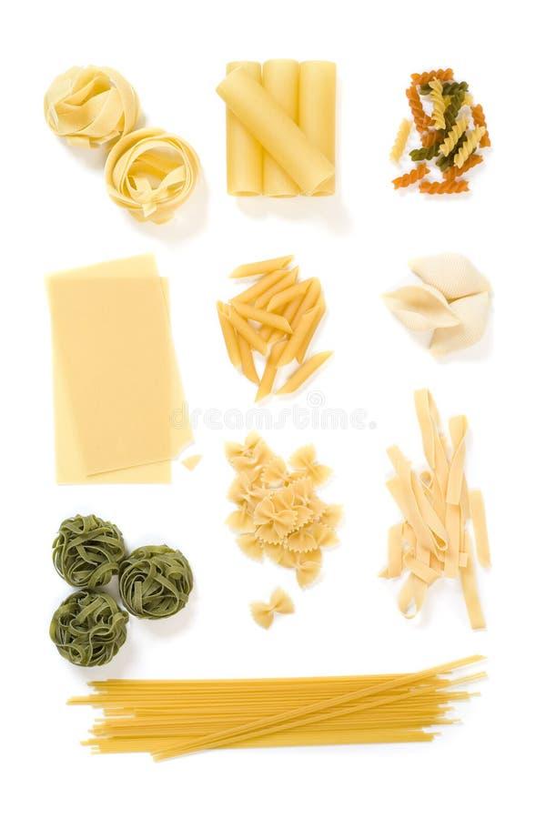 Pasta collection 2 royalty free stock photos