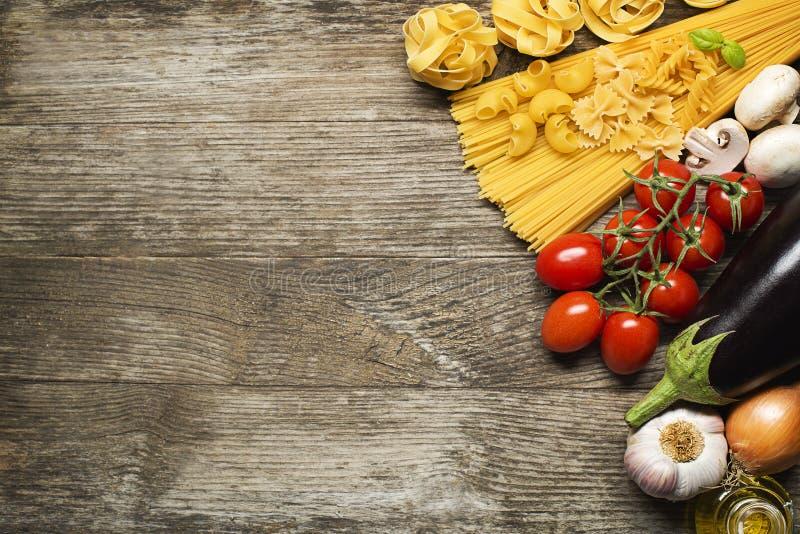 Pasta collection stock photos