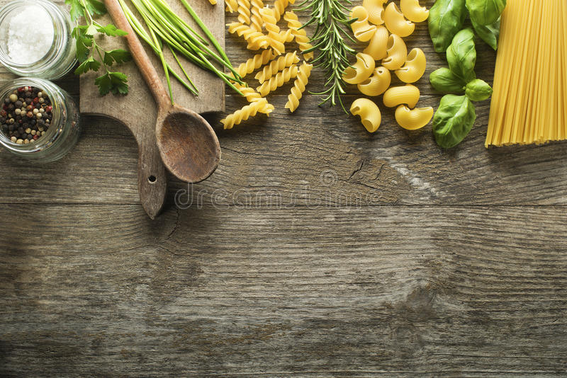 Pasta collection royalty free stock photography