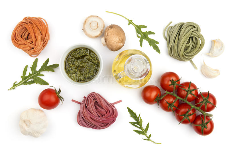 Pasta cooking background royalty free stock photography
