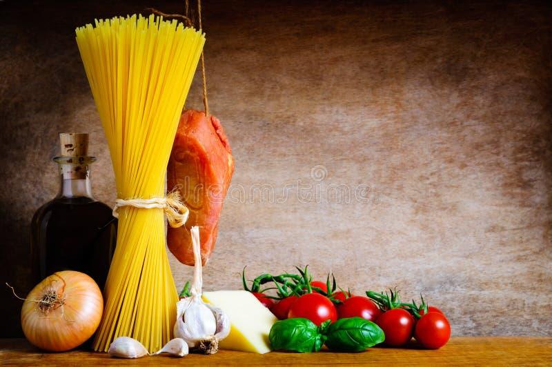 Download Pasta cooking ingredients stock photo. Image of cooking - 22039262